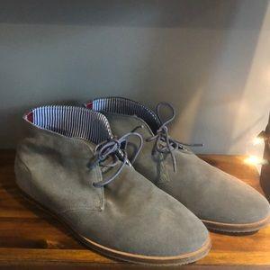 Ben Sherman gray desert boots